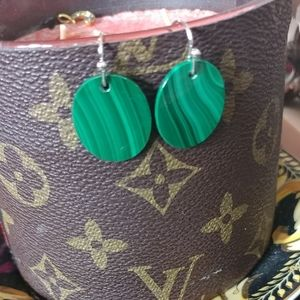 Designer Natural Stone Earrings